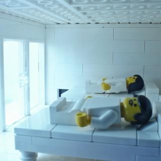 レゴで建築 安藤忠雄「住吉の長屋」